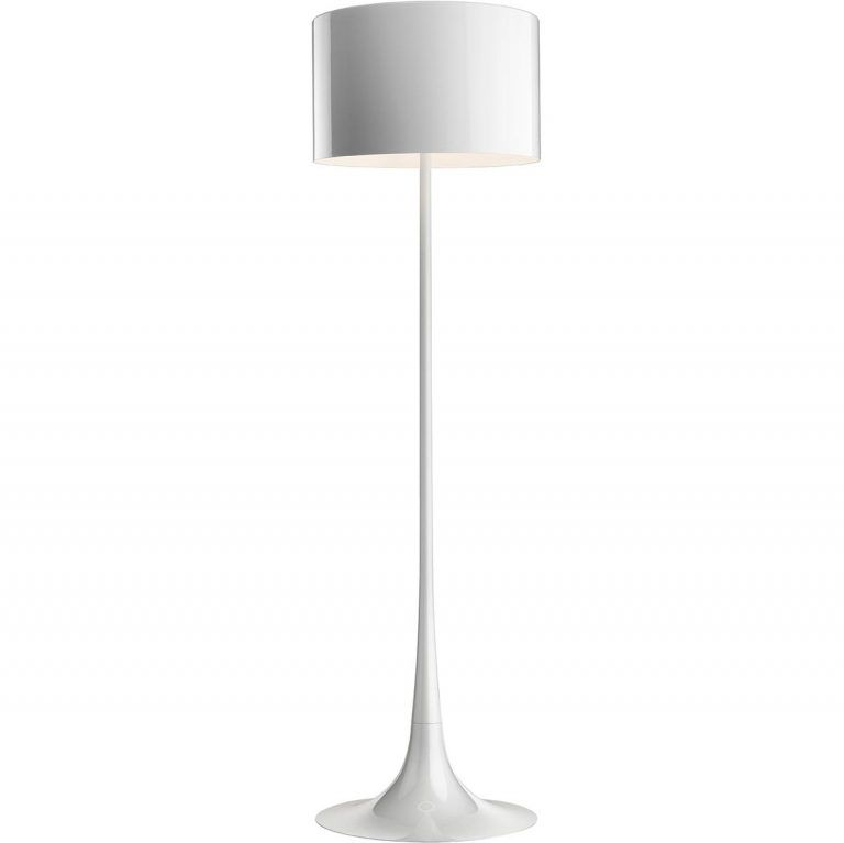 Lámpara Spun Light Foor blanco - Flos