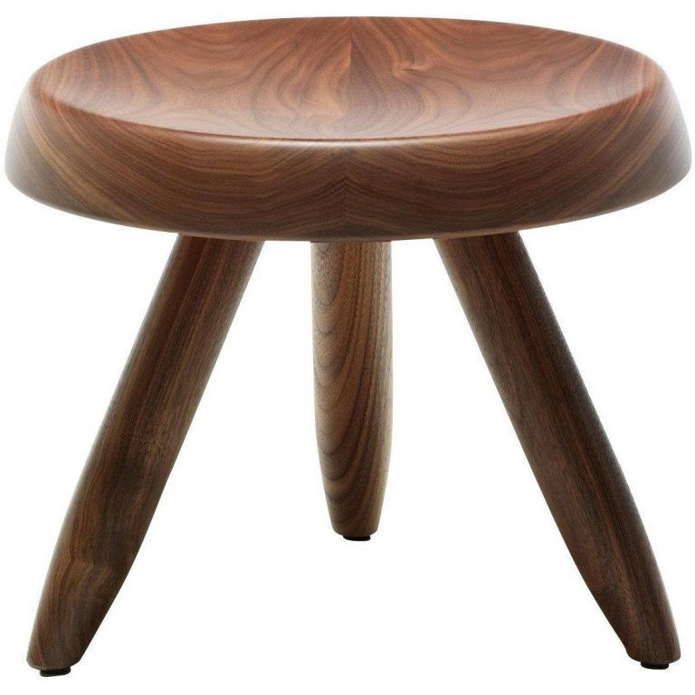 524 Berger Stool Walnut Oak - Cassina