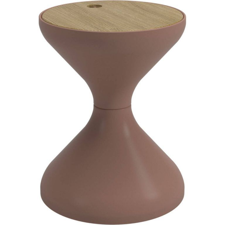 Bells Terracota Side Table - Gloster