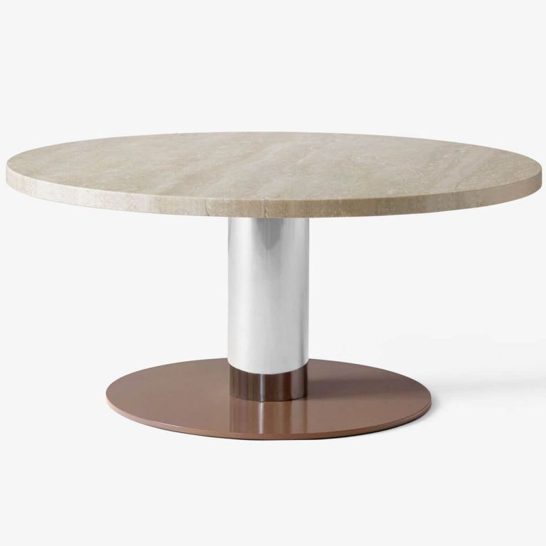 JH20 Travertine Mixing side table - & Tradition