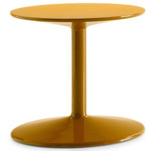 Yellow Spool side table - B&B Italia