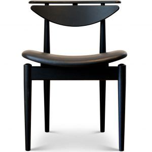 Black Oak Reading Chair - OneCollection