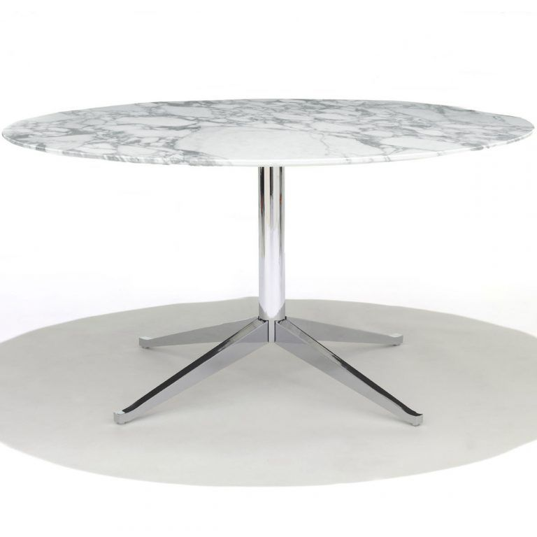 Florence Marble Round Table - Knoll