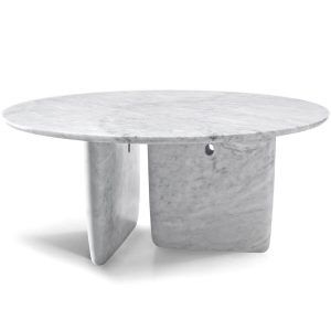 Tobi-Ishi Carrara table - B&B Italia
