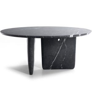 Table Tobi-Ishi Marble black marble - B&B Italia