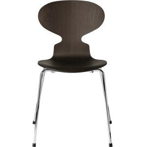 Chair with 4 legs Stained oak - Fritz Hansen