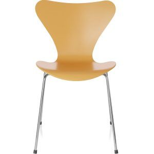 Chair Series 7 Lacquered yellow - Fritz Hansen