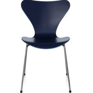 Chair Series 7 Lacquered dark blue - Fritz Hansen