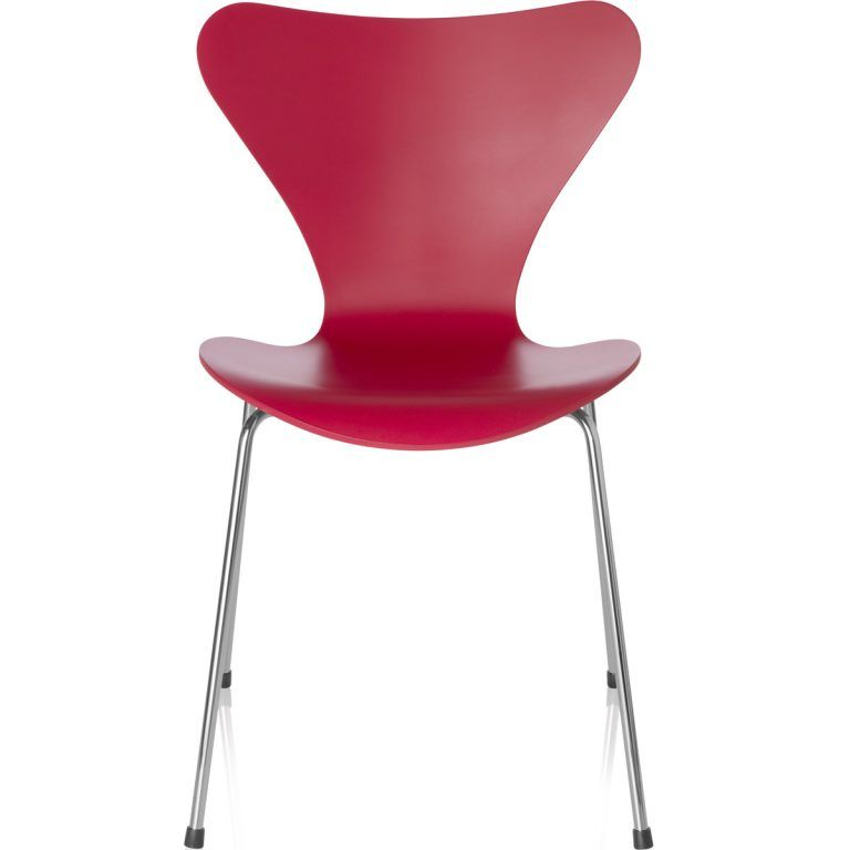 Chair Series 7 Lacquered red - Fritz Hansen