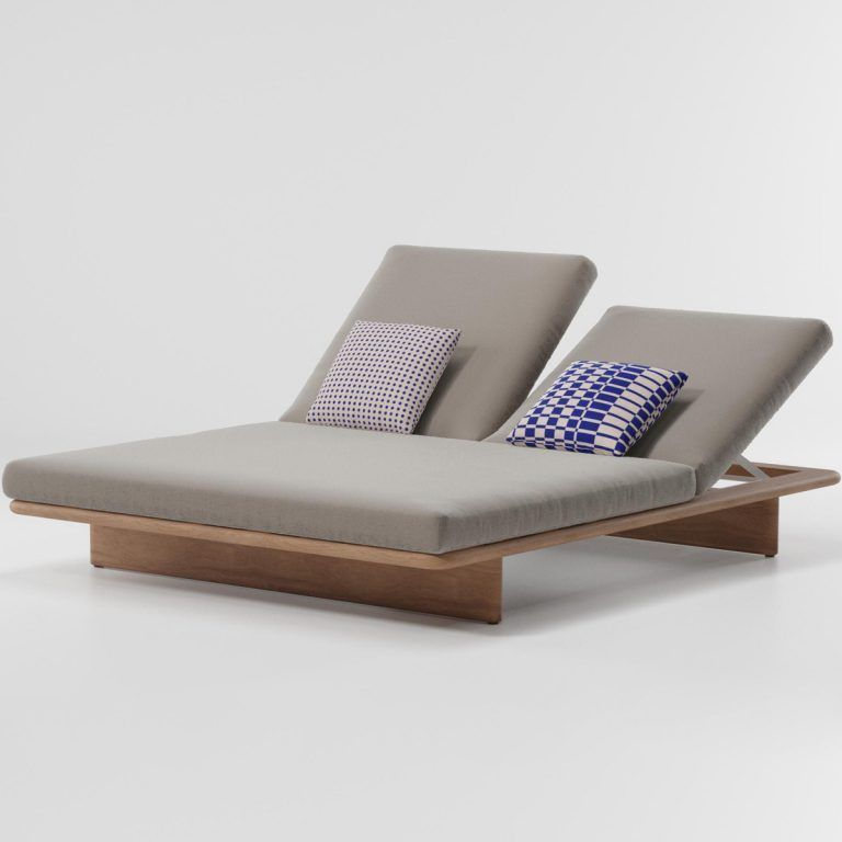 Double Mesh lounger - Kettal