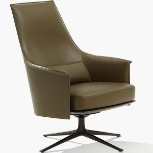 Stanford Lounge armchair - Poliform