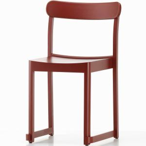 Atelier Chair Red lacquered - Artek